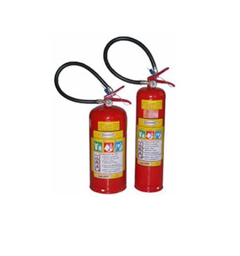 Extintor de incêndio pó químico Bucka